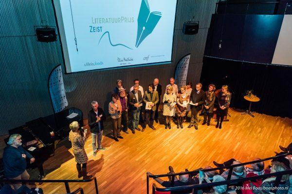 Literatuurprijs prijsuitreiking in de Klinker